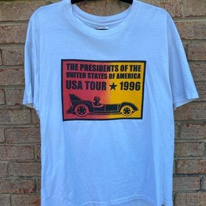 1996 Presidents of the United States Tee